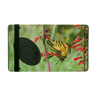 Capa iPad Borboleta e Wildflowers de Swallowtail do tigre
