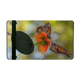 Capa iPad Borboletas de monarca em Wildflowers