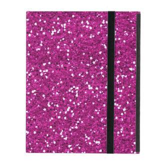 Capa iPad Brilho à moda do rosa quente