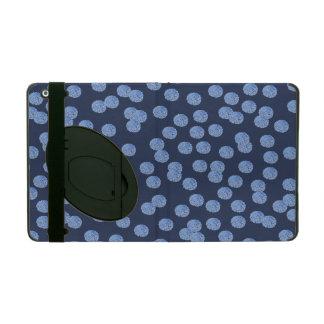 Capa iPad Caixa azul do iPad 2/3/4 das bolinhas com