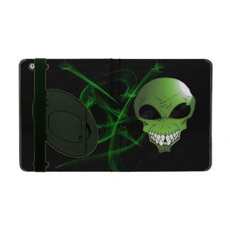 Capa iPad Caixa estrangeira verde do iPad 2/3/4 com