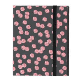 Capa iPad Caixa vermelha do iPad 2/3/4 das bolinhas