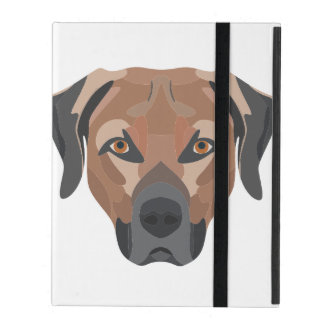 Capa iPad Cão Brown Labrador da ilustração