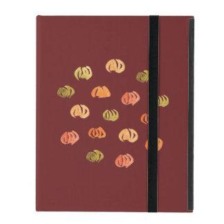 Capa iPad Caso do iPad 2/3/4/da abóbora sem Kickstand