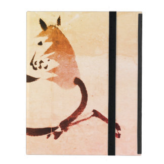 Capa iPad caso do iPad 2/3/4 sem o cavalo do chinês de