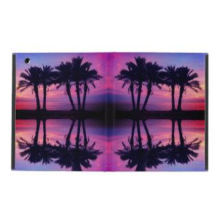 Capa iPad Caso do ipad das palmeiras do por do sol