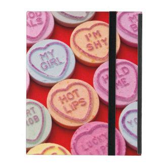 Capa iPad Caso do ipad dos doces do coração do amor