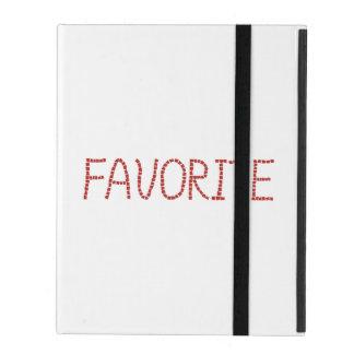 Capa iPad Caso favorito do iPad 2/3/4 sem Kickstand