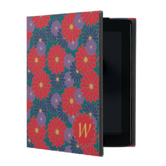 Capa iPad Caso floral de Powis do iPad da queda Splashy
