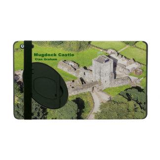 Capa iPad Castelo de Mugdock, vista aérea