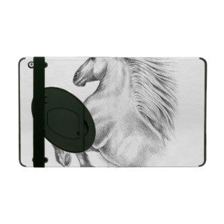 Capa iPad Cavalo andaluz poderoso