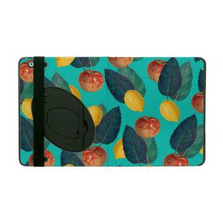 Capa iPad cerceta das maçãs e dos limões