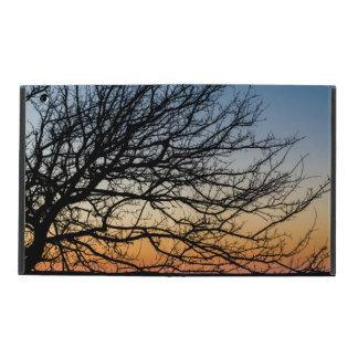 Capa iPad Céu do inclinação no inverno