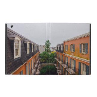 Capa iPad Construções e palmeiras em Nova Orleães