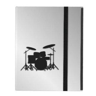 Capa iPad Design ajustado da música do cilindro