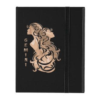 Capa iPad Design do zodíaco dos Gêmeos