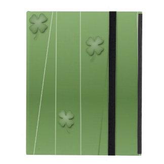 Capa iPad Design irlandês do trevo