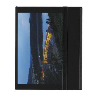 Capa iPad Edersee Staumauer iluminado ao cair da tarde