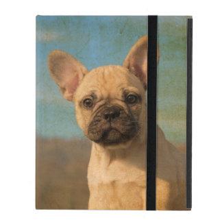 Capa iPad Filhote de cachorro bonito do buldogue francês -
