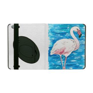 Capa iPad Flamingo cor-de-rosa