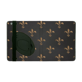 Capa iPad Flor de lis, vintage, elegante, chic.classy, teste