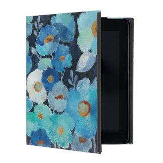 Capa iPad Flores do índigo