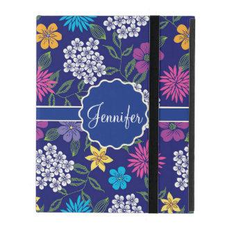 Capa iPad Flores selvagens femininos do primavera e do