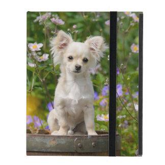 Capa iPad Foto de creme longhair bonito do animal de