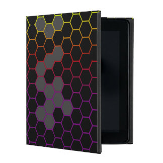 Capa iPad Hex da cor com cinza