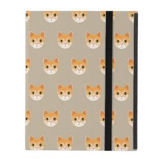 Capa iPad Ilustração bonito do gato de gato malhado