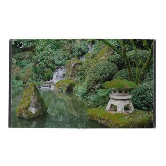 Capa iPad Jardins japoneses calmos