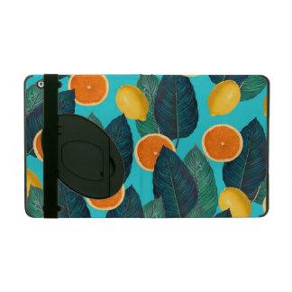 Capa iPad limões e cerceta das laranjas