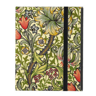 Capa iPad Lírio do ouro de William Morris