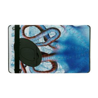 Capa iPad Mapa do azul do polvo