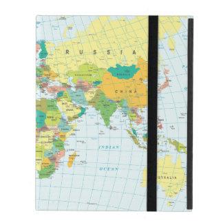Capa iPad Mapa do mundo