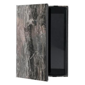 Capa iPad Mini A cinza moderna tonifica a pedra de mármore áspera