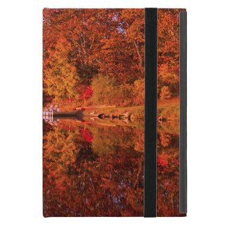 Capa iPad Mini A reflexão do outono