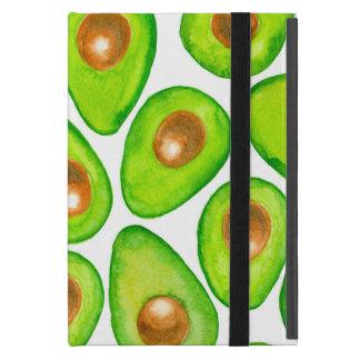 Capa iPad Mini Aguarela das fatias de abacate