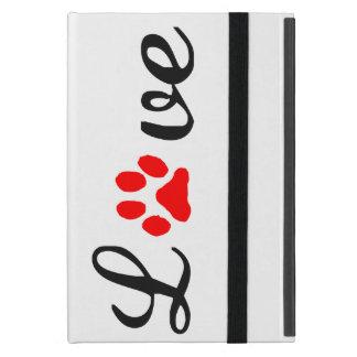 Capa iPad Mini animais de estimação do amor do caso do iPad mini