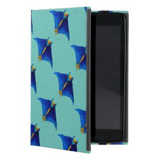 Capa iPad Mini arte do raio de manta