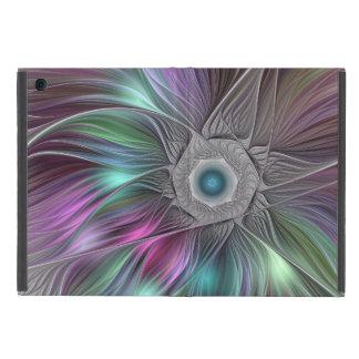 Capa iPad Mini Arte moderna abstrata colorida do Fractal de