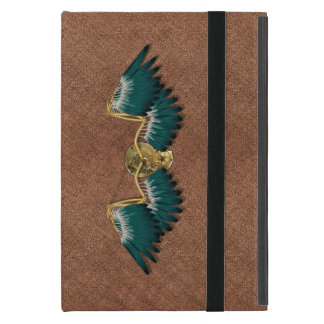 Capa iPad Mini Asas mecânicas Brown de Steampunk