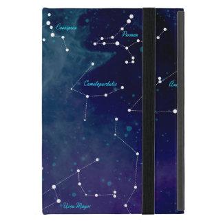 Capa iPad Mini Astronomia das constelações do mapa de céu
