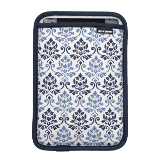 Capa iPad Mini Azuis da cor damasco de Feuille no creme