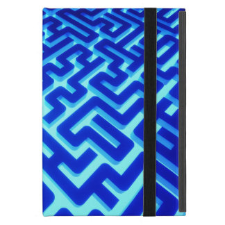 Capa iPad Mini Azul do labirinto