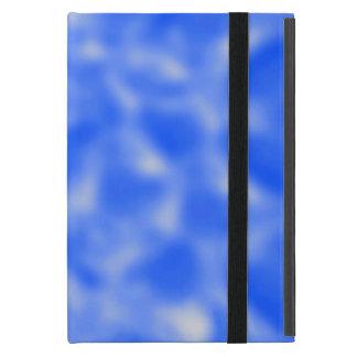 Capa iPad Mini Azul e branco Mottled