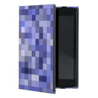 Capa iPad Mini Azul obscuro dos azulejos de mosaico - máscaras do