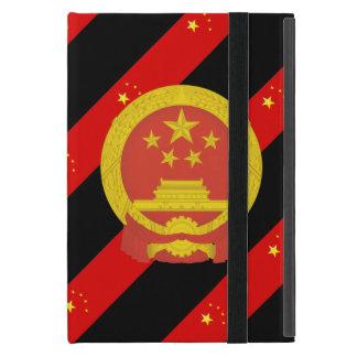 Capa iPad Mini Bandeira chinesa das listras