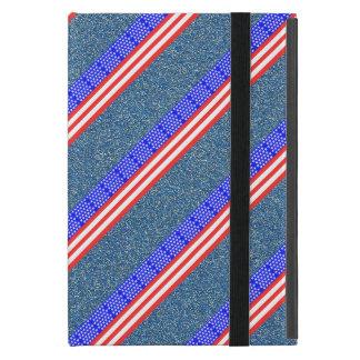 Capa iPad Mini Bandeira das listras dos Estados Unidos
