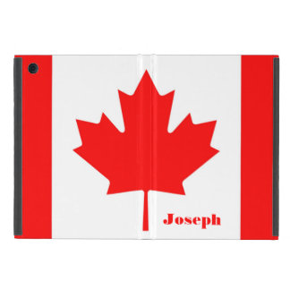 Capa iPad Mini Bandeira de Canadá o monograma canadense da